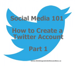 Thinking Outside The Sandbox: Business twitter-logo-300x265 Social Media 101: Twitter Part 1 - How to open a Twitter account All Posts Social Media TOTS Business  twitter social media 101 how to