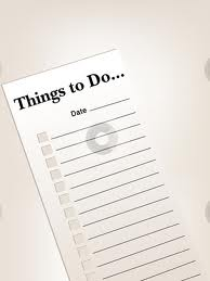 Use a List to Get Stuff Done