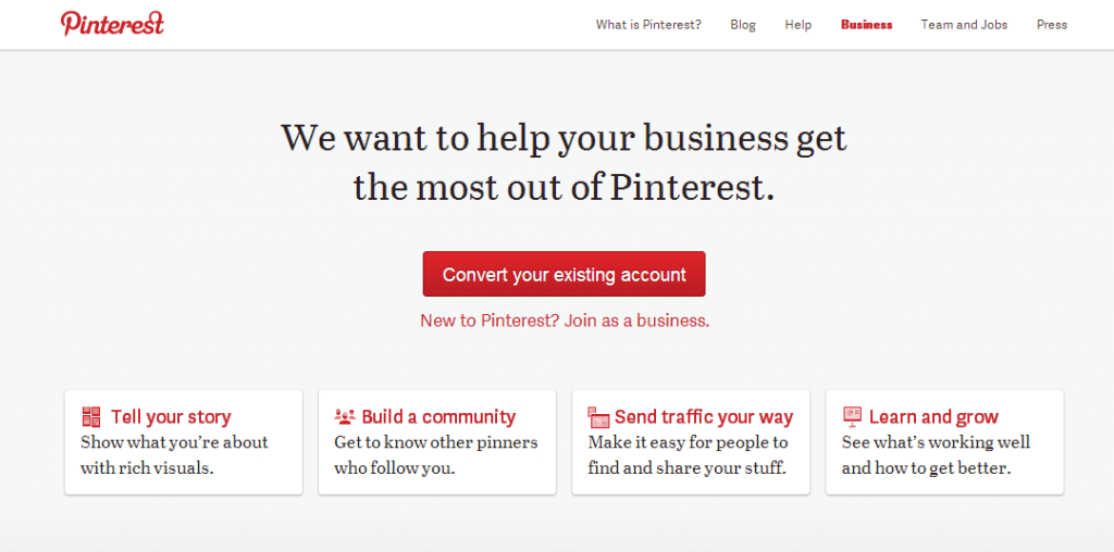 How To Change Your Pinterest Account To A Business Account