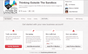 Convert your existing account into a business Pinterest account step 5