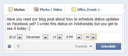 how to schedule a post on facebook picture 3