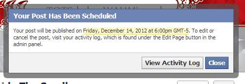 how to schedule a post on facebook picture 4