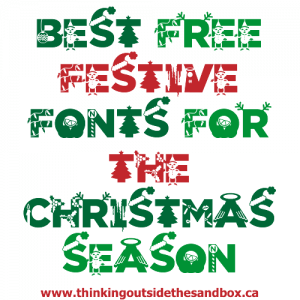 Thinking Outside The Sandbox: Business bestfreechristmasfonts-300x300 Best Free Festive Fonts for the Christmas Season All Posts Blogging Small Business Social Media TOTS Business  free font free fonts christmas