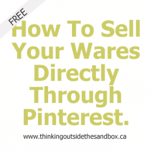 how to sell your wares directly through pinterest