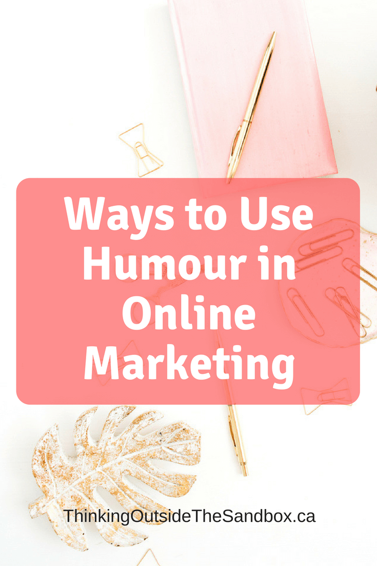 When you're trying to get more readers to visit your blog, we explore ways to use humour in online marketing.