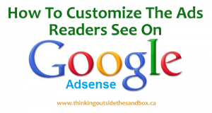 Thinking Outside The Sandbox: Business googleadsense-300x160 How To Change Your Ad Setting On Google AdSense All Posts Blogging  how to adsense