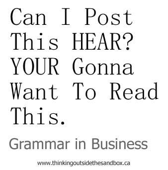 grammar in business