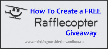 Thinking Outside The Sandbox: Business rafflecopter How To Create A Free Rafflecopter Giveaway All Posts Blogging Small Business  rafflecopter how to giveaway free