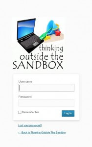 Thinking Outside The Sandbox: Business totslogin-188x300 Must Have Wordpress Plugins For a Collaborative Blog All Posts Blogging  wordpress plugin must have how to blogging bloggers blogger blog
