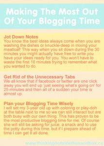 Thinking Outside The Sandbox: Business Making-the-most-out-of-your-blogging-time.-214x300 How To Make the Most of your Blogging Time All Posts Blogging  how to business advice blogging bloggers blogger blog