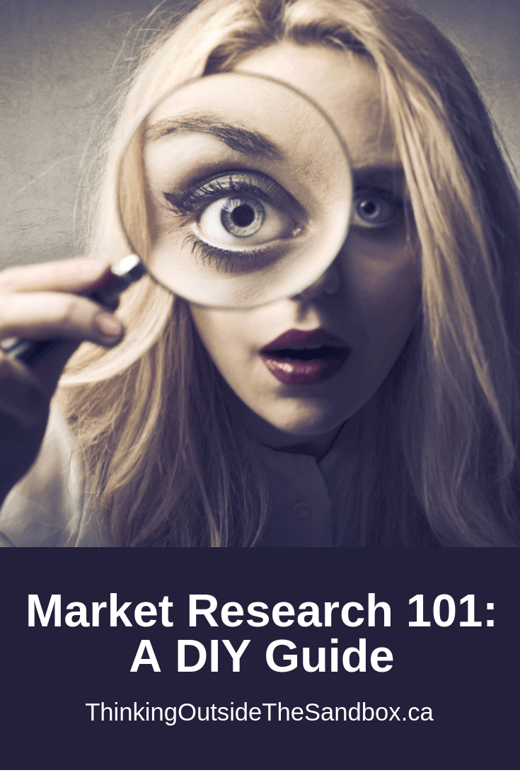 Thinking Outside The Sandbox: Business Market-Research-101_-A-DIY-Guide Market Research 101: A DIY Guide Blogging Small Business TOTS Business  Start a Business seo market research diy