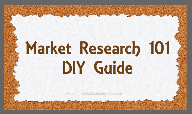 market research 101 a do it yourself guide