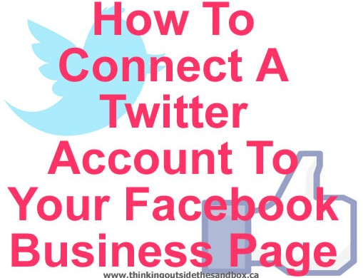 When I don't know how to do things, I use Google to find How To connect Twitter account to Facebook business page.
