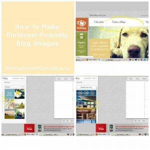 Thinking Outside The Sandbox: Business PicMonkey-Collage1-300x300 How to Make Pinterest-Friendly Blog Images All Posts Blogging Social Media  social media 101 social media pinterest-friendly images Pinterest picmonkey collage tutorial free