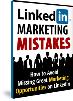 Thinking Outside The Sandbox: Business Linkedin-Marketing-Mistakes-eBook Do You Really Need a Facebook Page for Your Business? All Posts Blogging Free eBooks Small Business Social Media TOTS Business  wahm social media small business Free eBooks free ebook Facebook