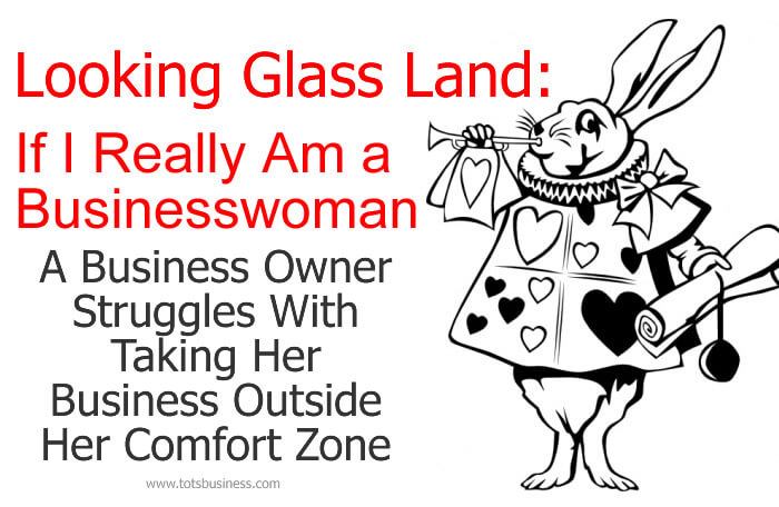 Thinking Outside The Sandbox: Business Looking-Glass-Land-If-I-Really-Am-a-Business-Woman Looking-Glass Land: If I Really Am a Businesswoman All Posts Small Business  working mother working mom small business mompranuer home business entreprenuer business advice