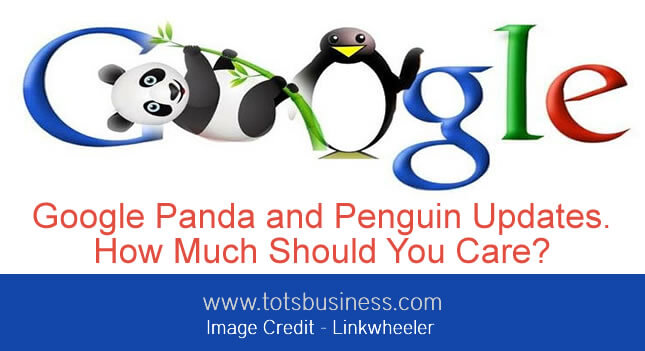 Thinking Outside The Sandbox: Business jpg Google Panda and Penguin Updates. How Much Should You Care? All Posts Blogging  pagerank google
