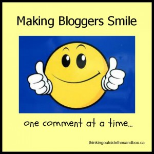 Thinking Outside The Sandbox: Business bloggerhappiness-300x300 Leave a Comment, Make a Blogger Happy All Posts Blogging  blogging advice blog
