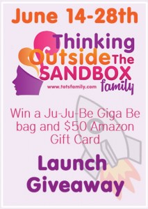 Thinking Outside The Sandbox: Business totsfamilylaunchgiveaway-213x300 Thinking Outside The Sandbox: Family Launch Giveaway All Posts  giveaway