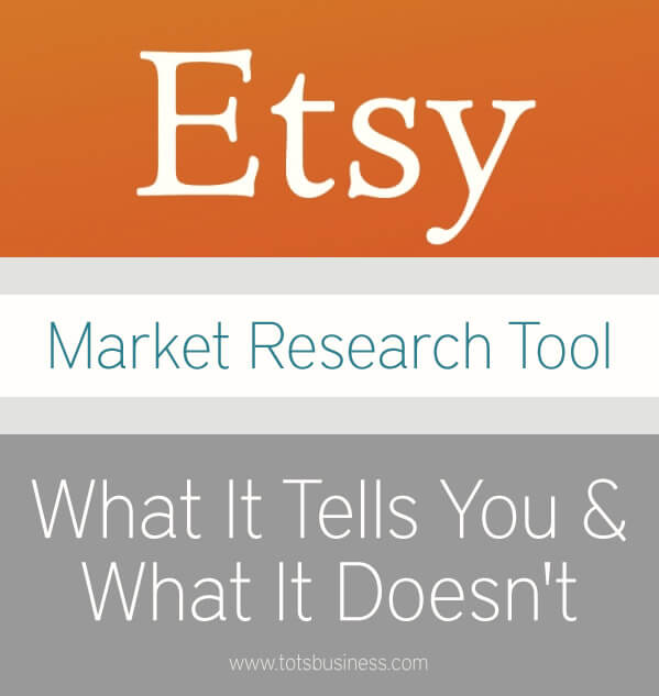 Thinking Outside The Sandbox: Business Etsy-Market-Research-Tool Etsy Market Research Tool: What It Tells You, What It Doesn't All Posts Small Business  market researcj etsy