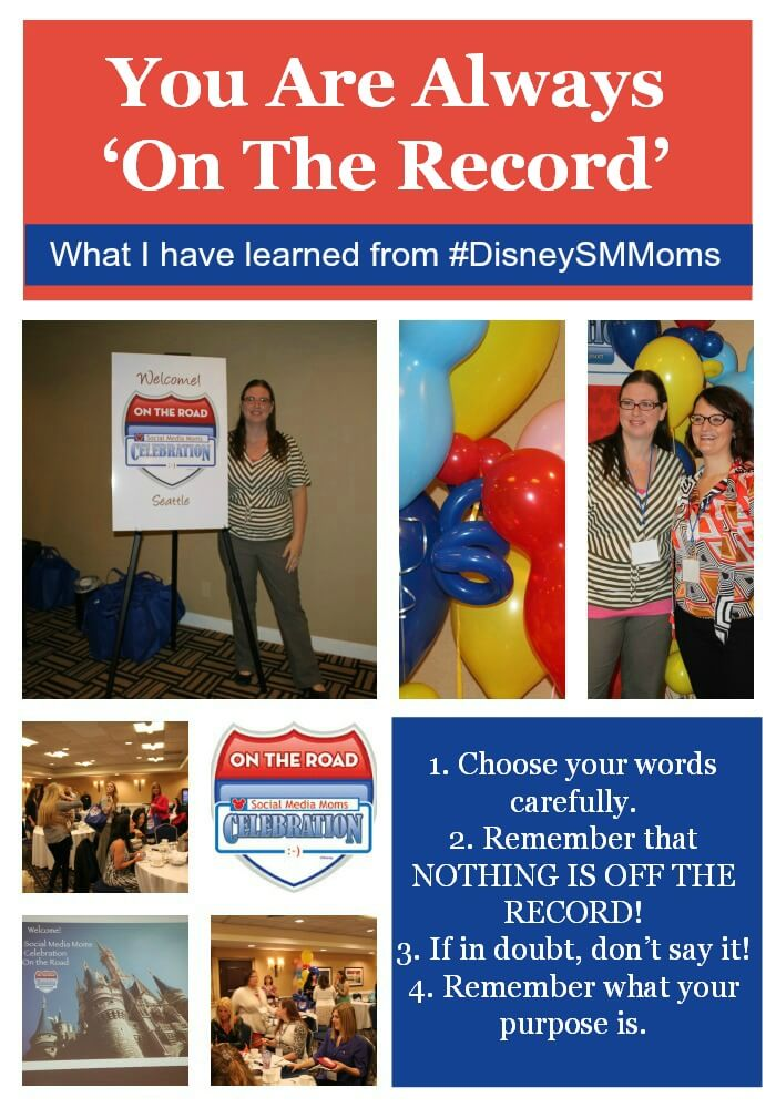 Thinking Outside The Sandbox: Business You-Are-Always-'On-The-Record'-DisneySmMoms You Are Always 'On The Record' #DisneySMMoms All Posts Blogging  tips small business advice blogging #disneysmmoms