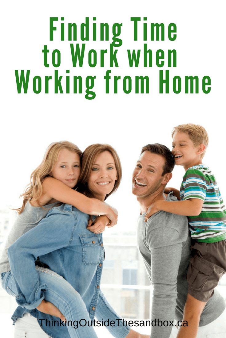 Thinking Outside The Sandbox: Business Finding-Time-to-Work-when-Working-from-Home A Scheduling Solution - Finding Time to Work when Working from Home All Posts Blogging Small Business  working schedule work from home wahm scheduling schedule