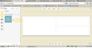 how to create a blog header free