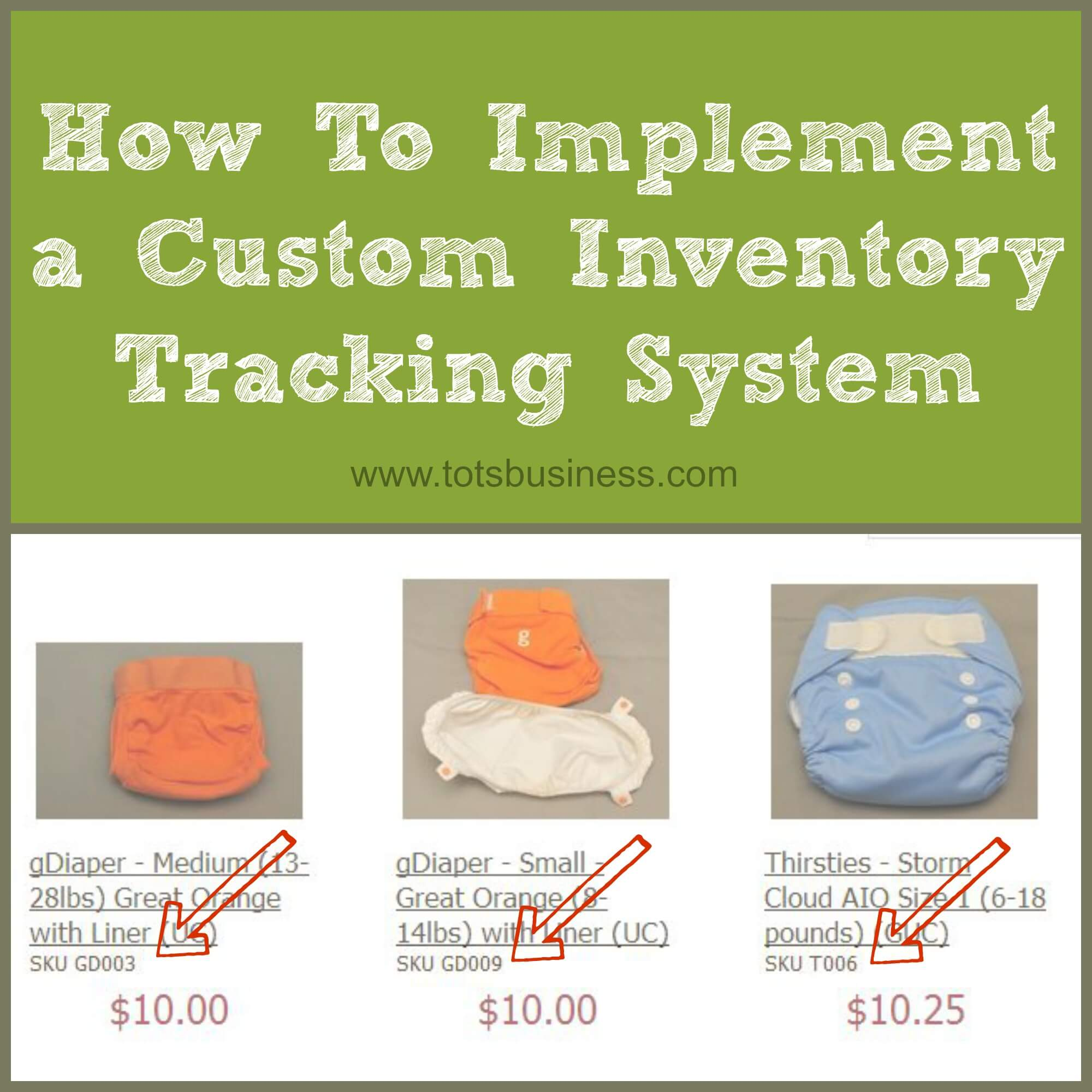 Thinking Outside The Sandbox: Business How-To-Implement-a-Custom-Inventory-Tracking-System How To Implement a Custom Inventory Tracking System All Posts Small Business TOTS Business  small business sku inventory how to business advice