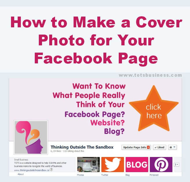 How to Make a Cover Photo for Your Facebook Page