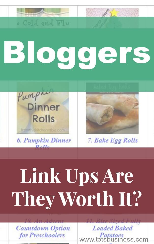 Bloggers Link Ups Are They Worth It