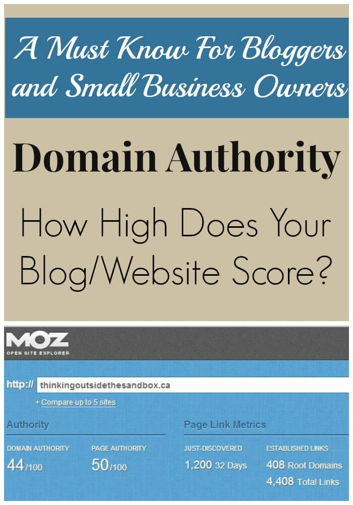 I am obsessed with gathering metrics to see how well my websites Domain Authority – How Well Does Your Website Score?