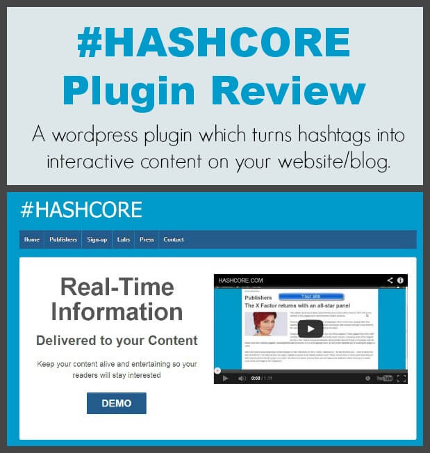 Thinking Outside The Sandbox: Business HASHCORE-Plugin-Review #HASHCORE Plugin Review  All Posts Blogging Social Media  wordpress twitter review plugin hashtag #HASHCORE