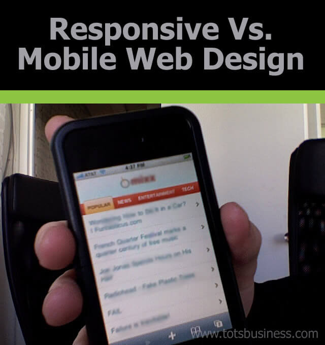 Thinking Outside The Sandbox: Business Responsive-Vs-Mobile-Web-Design Responsive Vs. Mobile Web Design All Posts Blogging  website seo responsive mobile apps page rank mobile design google blogging blogger blog