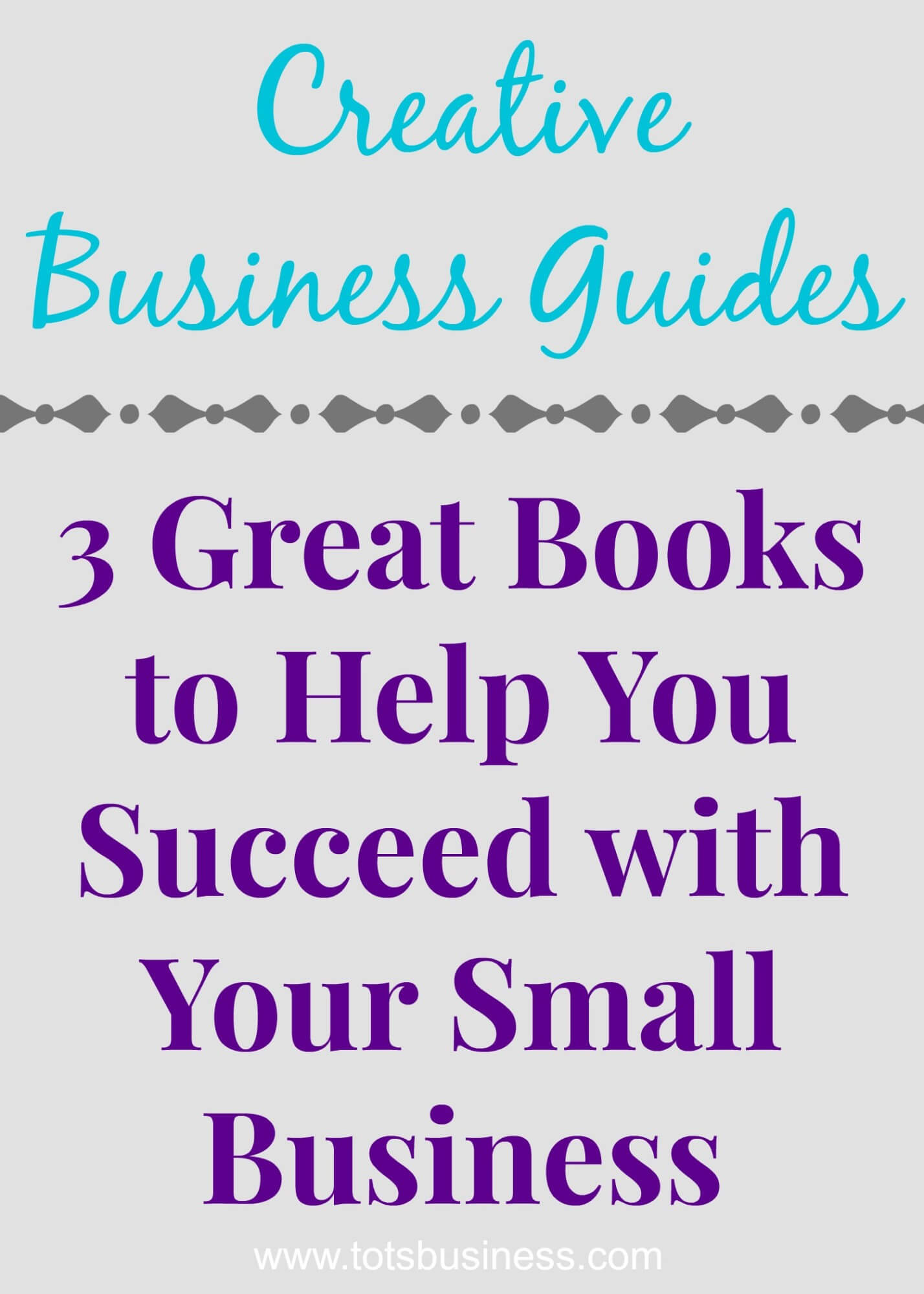 Thinking Outside The Sandbox: Business 3-Great-Books-To-Help-You-Succeed-with-Your-Small-Business Creative Business Guides. 3 Great Books To Help You Succeed with Your Small Business. All Posts Small Business  small business books
