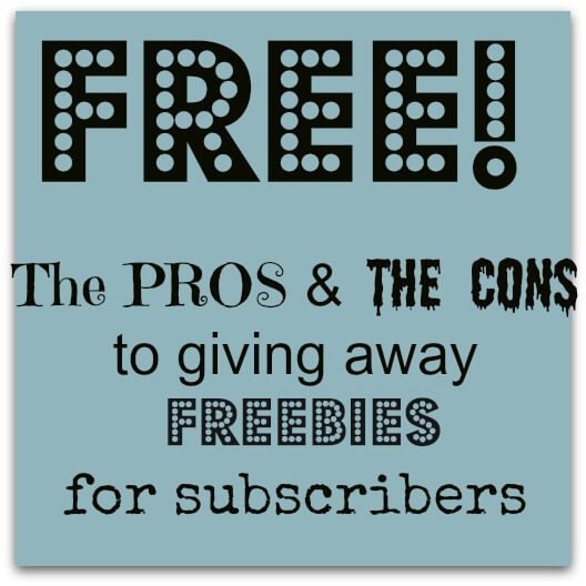 Thinking Outside The Sandbox: Business Should-you-give-away-freebies-on-your-blog- Should you give away freebies on your blog?  The pros cons… All Posts Blogging  website mom blog freebies free ebook blog