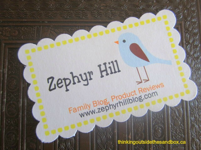 Thinking Outside The Sandbox: Business businesscards2 5 Cheap and Easy Business Card Ideas All Posts Blogging Small Business TOTS Business  small business frugal dit cheap business cards blog