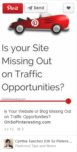Thinking Outside The Sandbox: Business OhSoPinteresting 5 Ways to Increase Web Traffic with Pinterest All Posts Blogging Social Media  vincent ng Pinterest pinning pinnable group boards followers