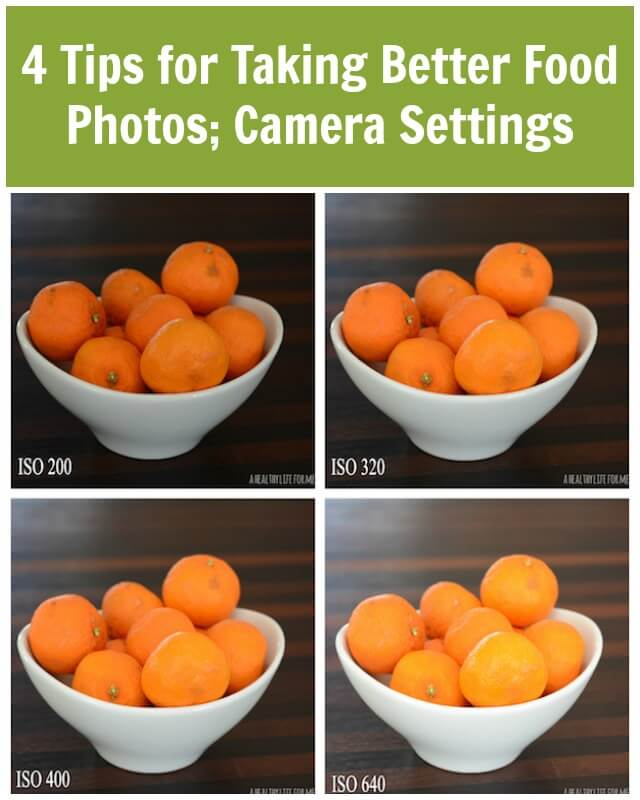 In our never ending quest for improvement - check out these 4 tips for taking better food photos.