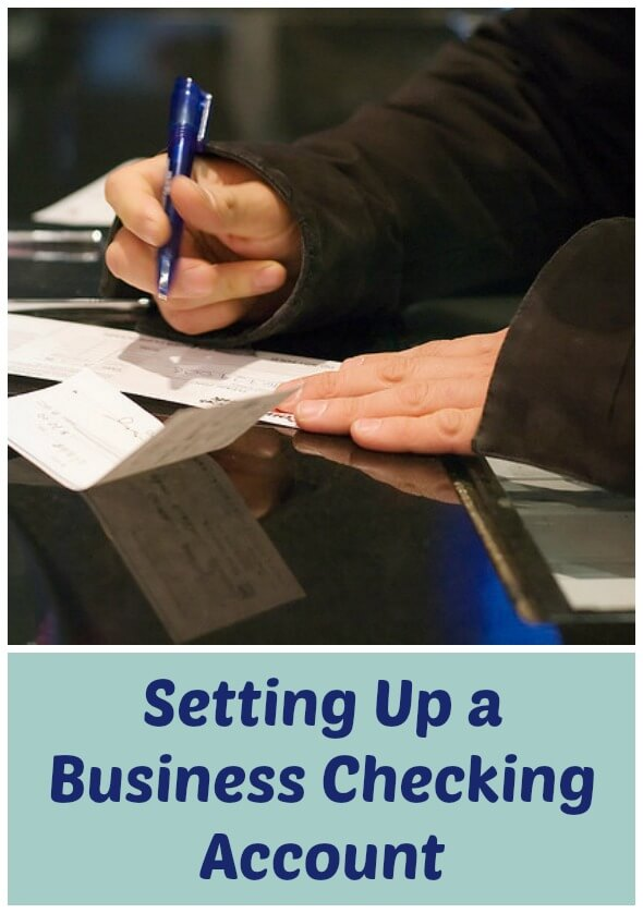how to set up a business checking account