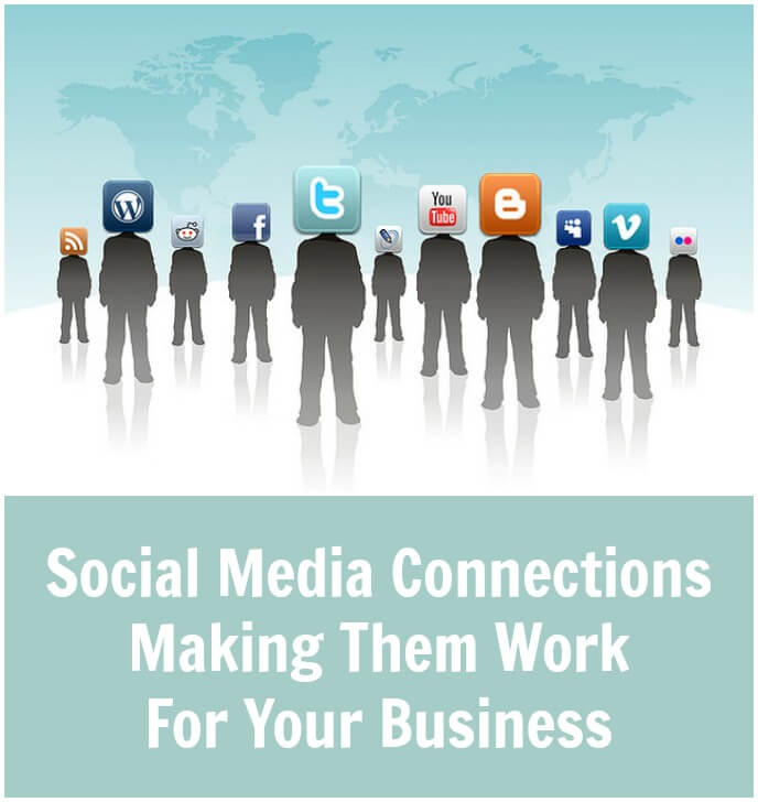 Thinking Outside The Sandbox: Business Social-Media-Connections-Making-Them-Work-For-Your-Business Social Media Connections - Making Them Work For Your Business All Posts Small Business Social Media  wahm twitter social media Pinterest Facebook business