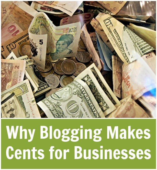 Thinking Outside The Sandbox: Business Why-Blogging-Makes-Cents-for-Businesses Why Blogging Makes Cents for Businesses All Posts Blogging  write wordpress wahm small business mom business blogging blogger blog