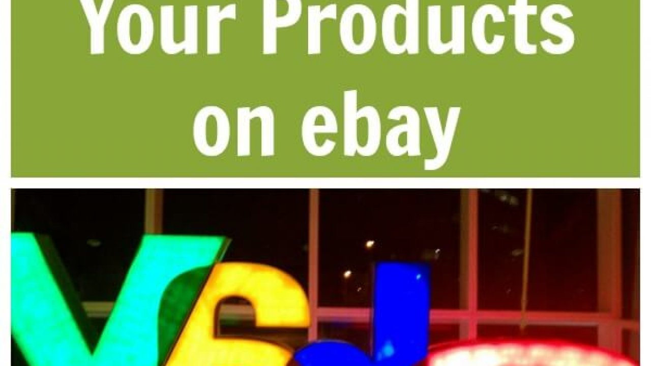 Disadvantages Of Selling Your Products On Ebay Thinking Outside The Sandbox Business