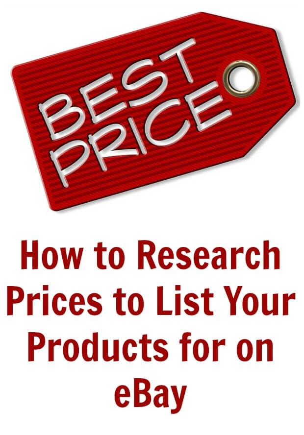 Maybe you already an avid eBay seller and are looking for ways to improve, or maybe you are just starting out and need to learn how to research prices to list your products on eBay.