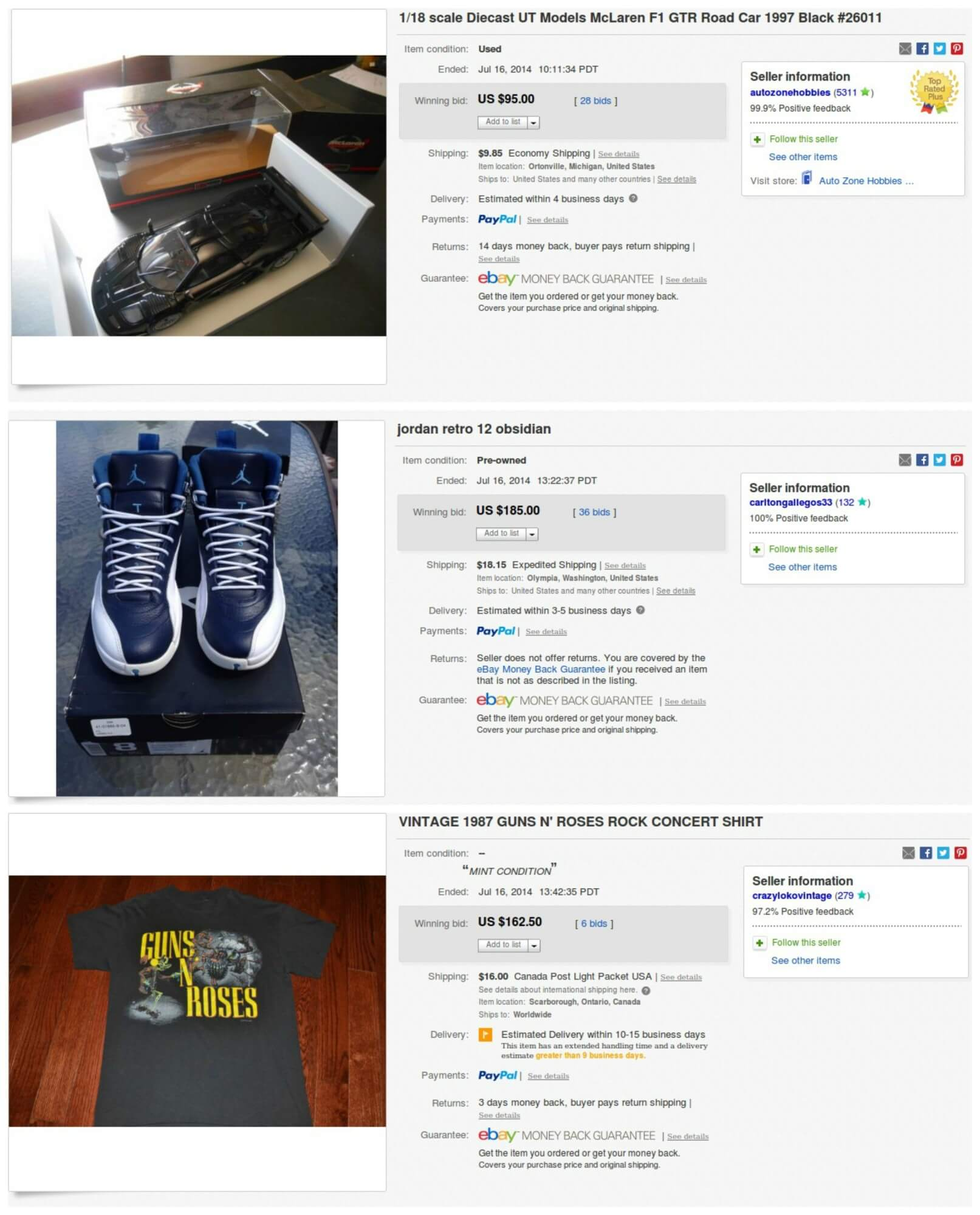 Thinking Outside The Sandbox: Business auction-Collage Selling as an Auction versus Fixed Price Listing on Ebay All Posts Small Business  selling sales rare price money ebay auction