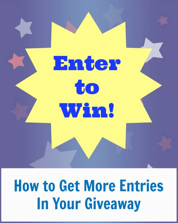 Thinking Outside The Sandbox: Business giveawaygraphic How to Get More Entries in Your Giveaway All Posts Blogging Social Media  win sweeps rafflecopter promotion prize giveaway enter blog
