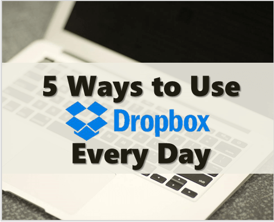 use dropbox every day