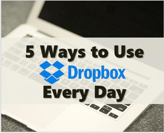 Thinking Outside The Sandbox: Business use-dropbox-every-day 5 Ways to Use Dropbox Every Day All Posts Blogging Small Business  virtual storage photo dropbox cloud