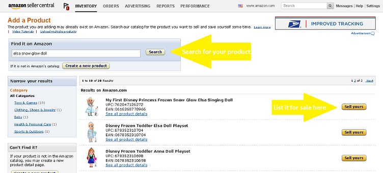 How to List an Item for Sale by Merchant on Amazon