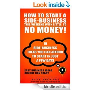 free how to start a side business this weekend with little to no