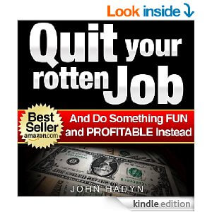 FREE E-Book: Quit your rotten job